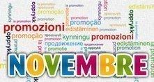 Promozioni stampa NOVEMBRE 2012