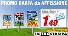 Stampa poster elezioni 2013