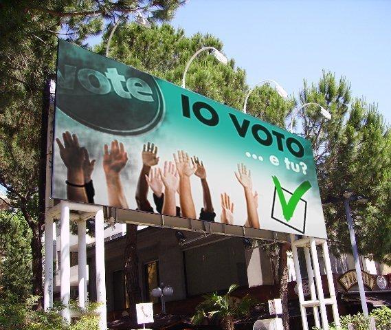 Stampa manifesti per campagne elettorali