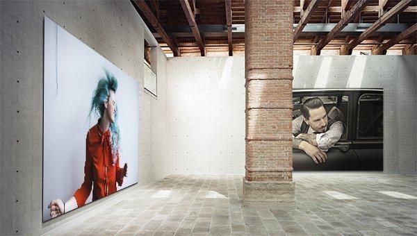 L'ideale per la stampa su pannelli per scenografie, pareti, cartellonistica