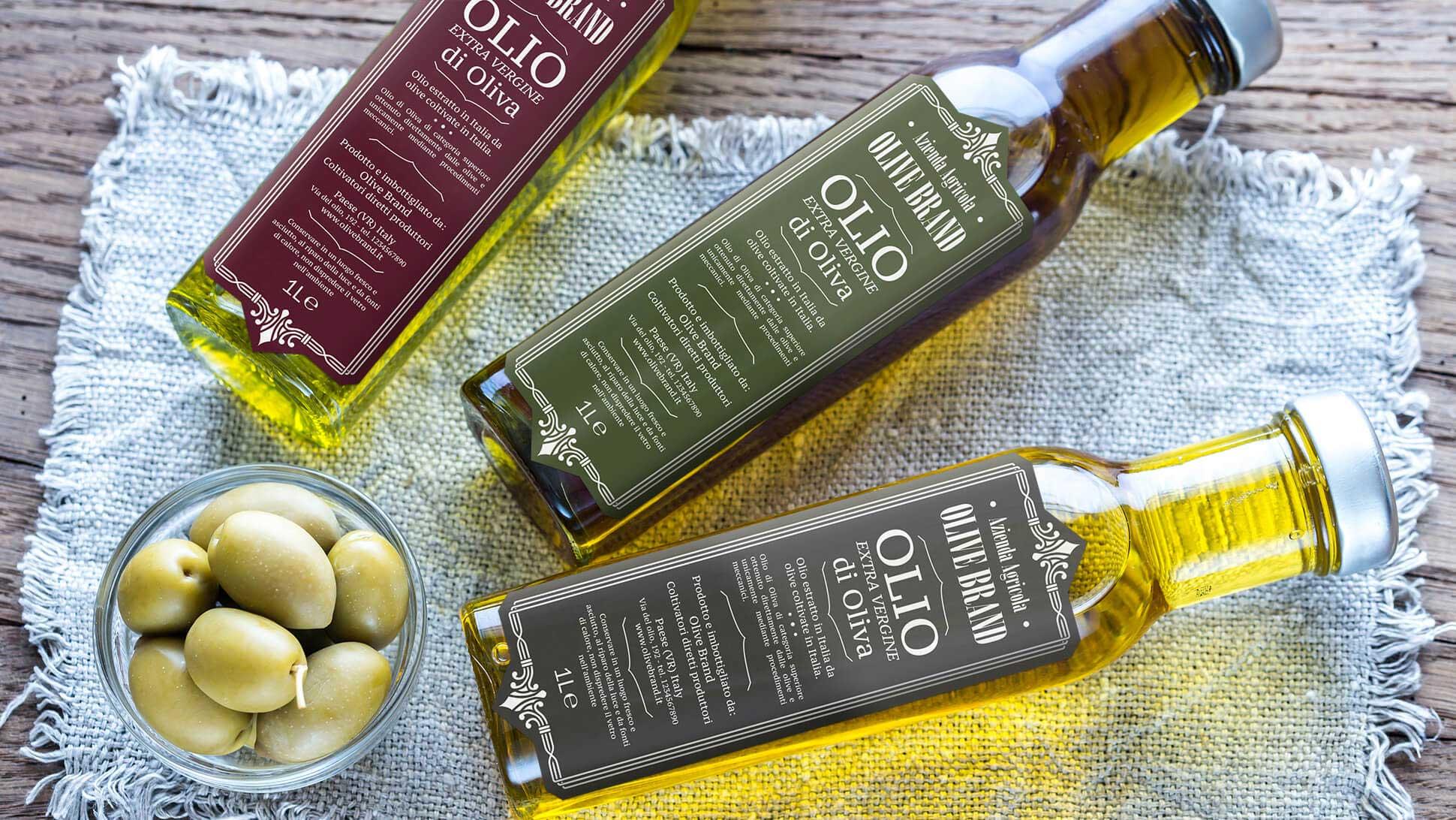 Etichette per olio: tutta la bellezza del made in Italy