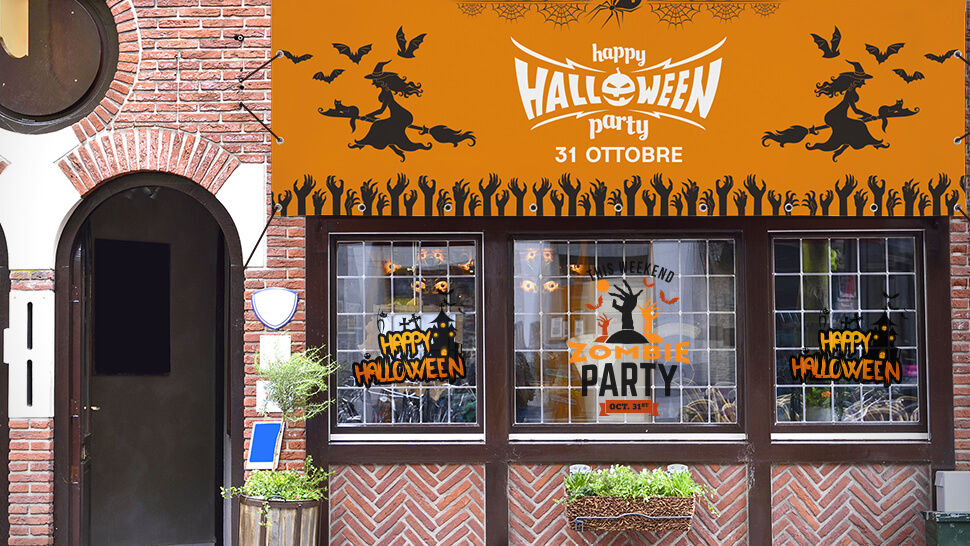 Come decorare un bar per Halloween