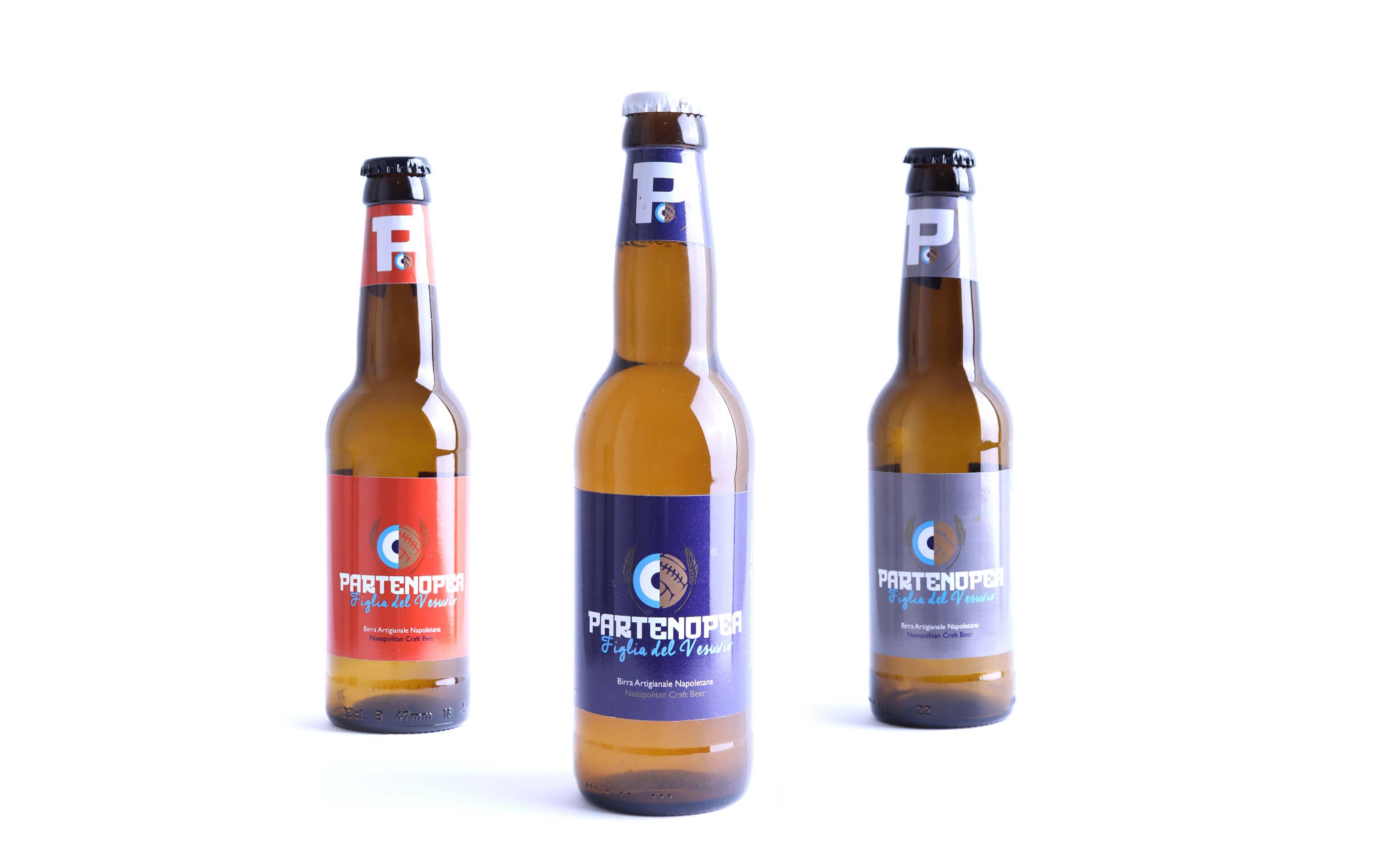 Monaci Vesuviani - Etichette per birra