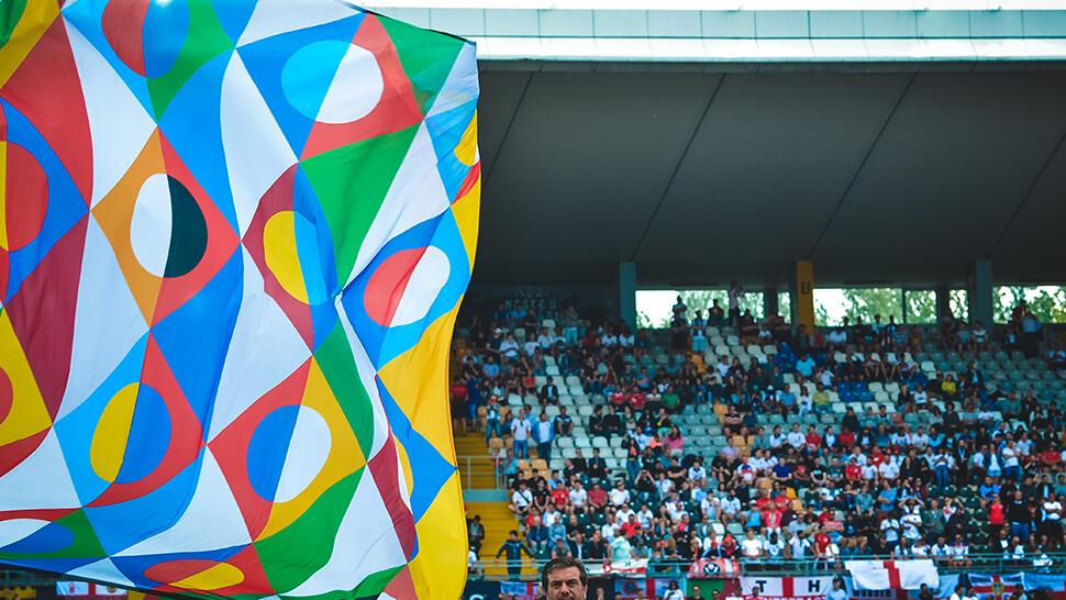 Bandiere da stadio personalizzate