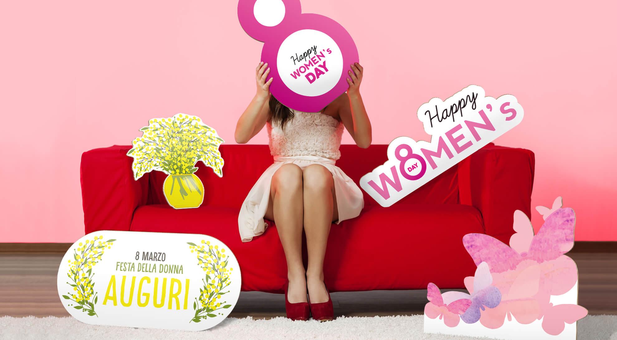 Decorazioni Festa della Donna: tutto quel che serve in negozio!