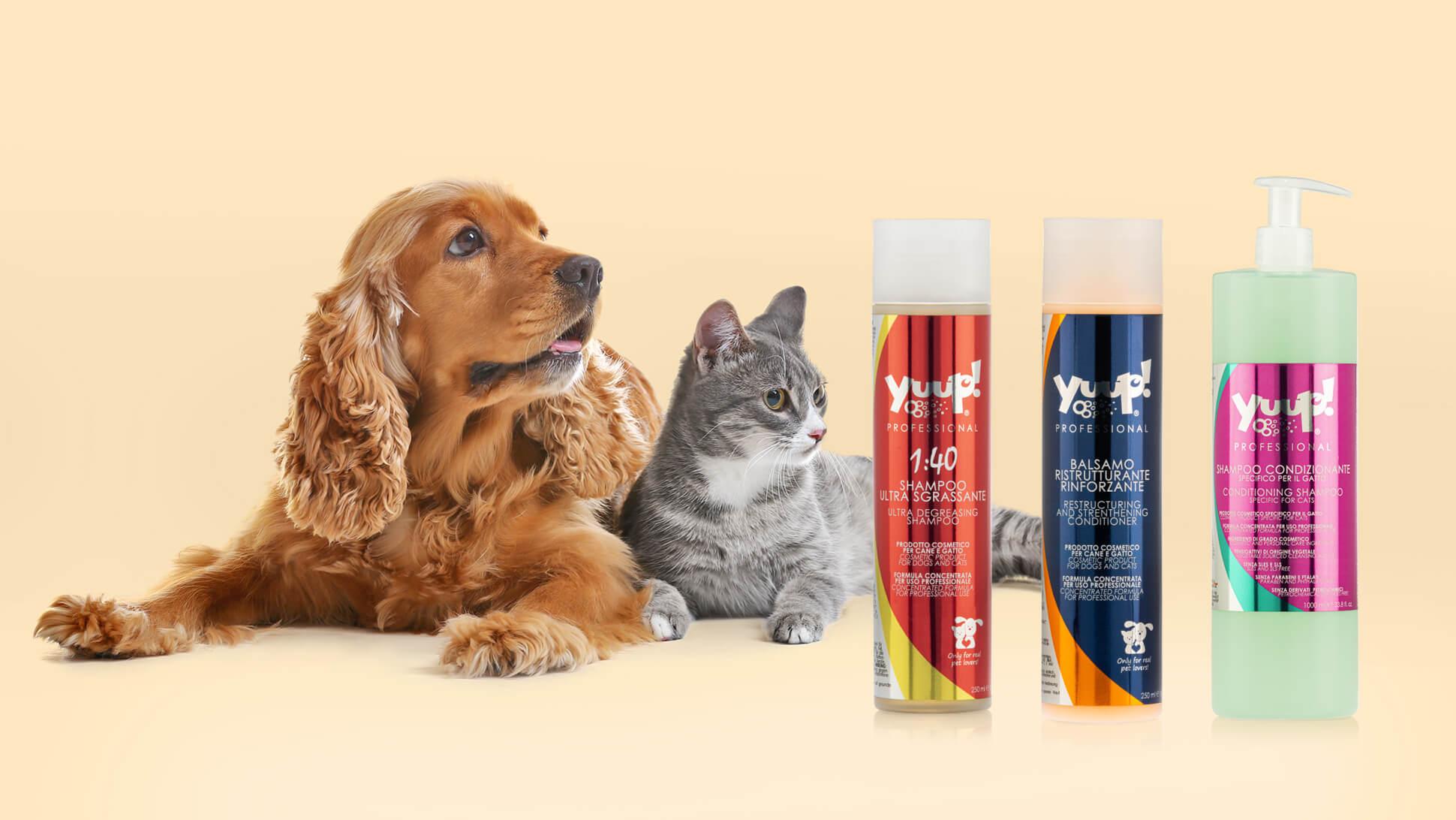 Etichette per cosmetici: amici pelosi più felici con Yuup!