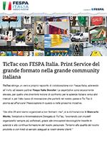 Tic Tac per Fespa Italia
