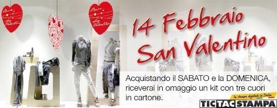 Promozione San Valentino TIC TAC Stampa