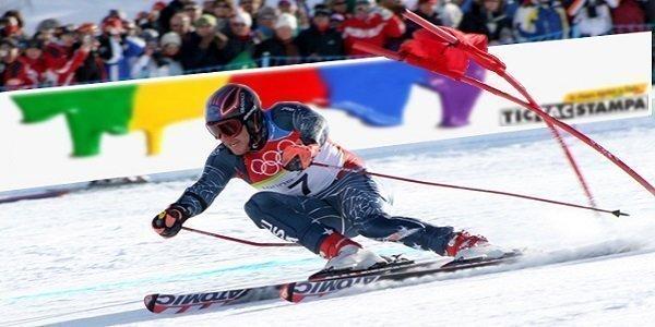 stampa teli per gare di sci