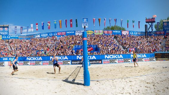 Bobina TNT beach volley